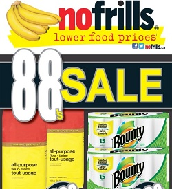 No Frills Flyer 07/26/13-08/01/13. Whole Chicken and Bounty Paper Towel Sale