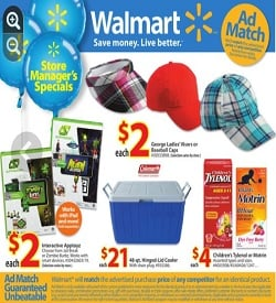 Walmart Flyer 07/26/13-08/01/13. Interactive Appytoz and Children's Tylenol Sale