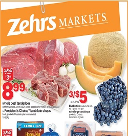 Latest Zehrs Flyer 08/09/13-08/15/13 Sale. Whole Beef Tenderloin