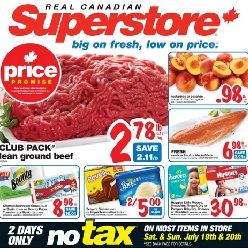 Superstore online flyer
