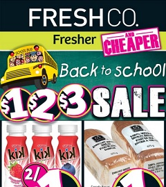 FreshCo Flyer Aug 28 - Sept 03, 2014  Lean Ground Beef Sale