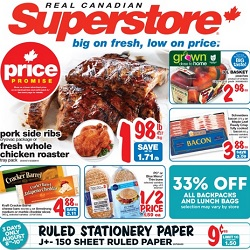 Superstore flyer
