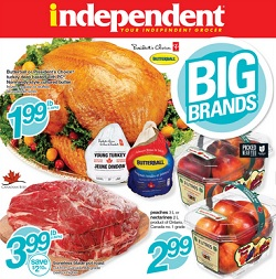 Independent grocer flyer