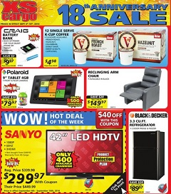 XS Cargo Weekly Flyer Sept 04 – Sept 10, 2014. Polaroid 9″ Tablet 4GB