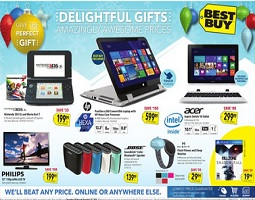 Best Buy Christmas flyer