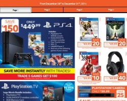 EB Games Boxing Day 2014 Sales. PS4 500GB Console Bundle