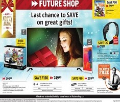 Future Shop Christmas Flyer December 19 – 24, 2014. Pre Boxing Day Sales