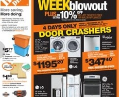 Home Depot Boxing Day 2014 Flyer December 26 – 31, 2014. Whirlpool Tall Tub Built-in Dishwasher