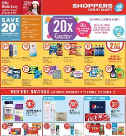 Shoppers Drug Mart Weekly Flyer good through 12/12/2014  40