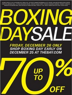 The Bay Boxing Day 2014 Flyer Sales. Zwilling J.A Henckels VistaClad Frying Pans