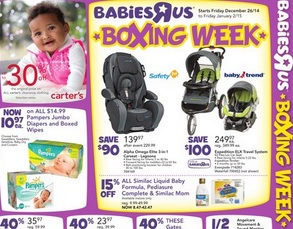 babiesrus boxing day