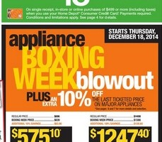 Home Depot Early Boxing Day Flyer December 18 – 24, 2014. Ryobi 6 Bench Grinder
