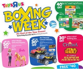 toyrus boxing day