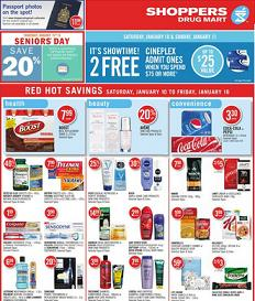 Shoppers Drug Mart Online Flyer 01/10 - 01/16/2015  Life