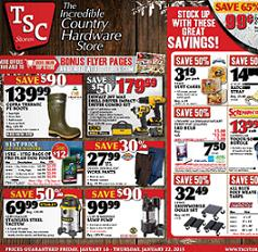 TSC Online Flyer January 16 - 22, 2015  Cofra Thermic PU Boots