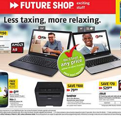 Future Shop Flyer 02/27 – 03/05/2015. Less taxing, more relaxing