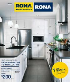 Rona Online Flyer good through 03/11/2015. Kitchen Cabinets