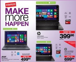 Staples Online Flyer 03/25 – 04/07/2015. Maroo Universal Case