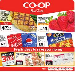 Co op Weekly Flyer 04/24 – 04/30/2015. Boneless Skinless Chicken Breasts