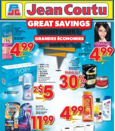 Jean Coutu Flyer valid through 04/23/2015. Gillette Fusion or Venus Olay