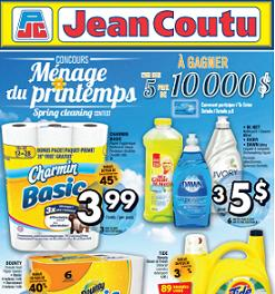 Jean Coutu Online Flyer valid through April 29, 2015. Charmin Basic