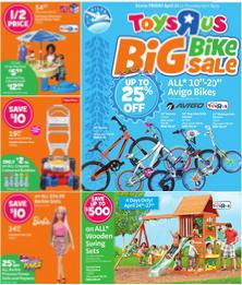 Toys R Us Flyer April 24 – 30, 2015. Big Bike Sale