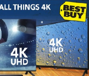 Best Buy Weekly Flyer April 24 – 30, 2015. LG Electronics Lg 55″ 4k Ultra HD 120hz IPS LED Smart Tv