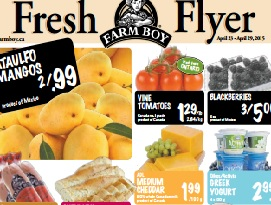 Farm Boy Flyer 04/23 – 04/29/2015. Ataulfo Mangos