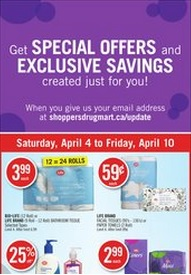 Shoppers Drug Mart Flyer and Specials