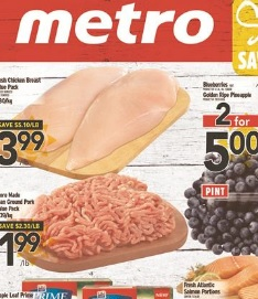 Metro Weekly Flyer valid until June 4, 2015. Fresh Chicken Breast Value Pack