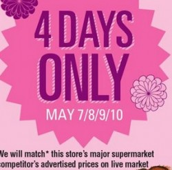 Atlantic Superstore Flyer 05/07 – 05/13/2015. Lobster Days