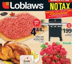 Loblaws Weekly Flyer May 22 – 28, 2015. Extra Lean Ground Beef