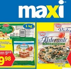 Maxi Weekly Flyer May 21 – 27, 2015. Mozzarellisima block or shredded cheese