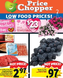 Price Chopper Flyer valid until May 14, 2015. 10 inch Hanging Baskets