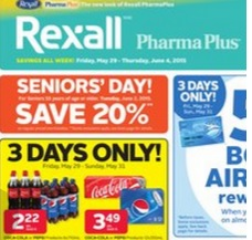 Rexall Flyer valid through 06/04/2015. Coca-Cola or Pepsi Products