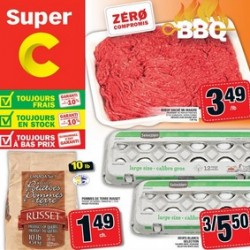 Super C Flyer May 28 – June 03, 2015. Medium Lean Ground Beef
