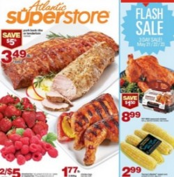 Atlantic Superstore Flyer 05/21 – 05/27/2015. Pork Back Ribs Or Tenderloin