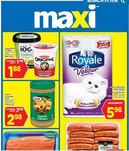 Maxi Flyer valid through July 1, 2015. Astro or IÖGO Yogurt