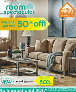 Ashley Furniture Flyer And Weekly Specials