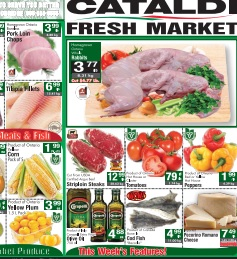 Cataldi Online Flyer valid until 08/11/2015.  Lamb Chops