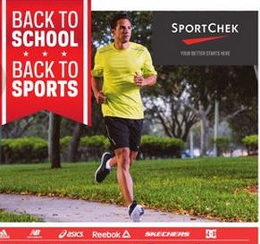 Sport Check Flyer 08/05 – 08/11/2015. Back to school.Back to sport
