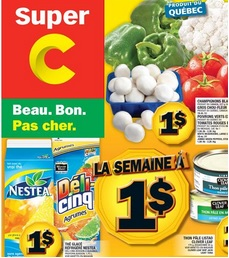Super C Flyer August 6 -12, 2015. Nestea Iced Tea, Five Alive Citrus Drink, Fruitopia Drink