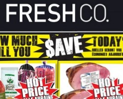 FreshCo Flyer October 1 – 7, 2015. Ontario White Potatoes, Carrots, Yellow Onions or Beets