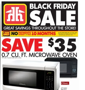 Home Hardware Black Friday 2015 Deals. Microwave Oven