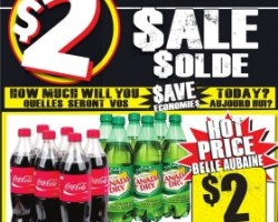 Freshco Black Friday Flyer November 26 – December 02, 2015. Coca-Cola Soft Drinks