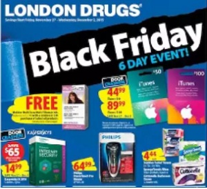 London Drugs Black Friday 2015 Deals. Philips Powertouch Pro Shaver