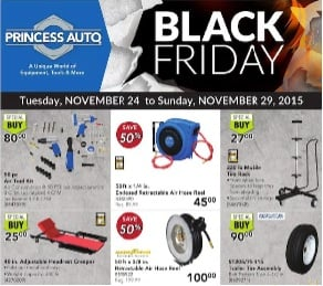 Princess Auto Black Friday 2015 Flyer Sale. 50pc Air Tool Kit