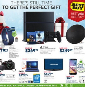 Best Buy Flyer December 18 – 24, 2015. PlayStation 4 500GB Star Wars Battlefront Bundle