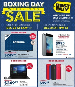 Best Buy Boxing Day 2015 Sales Flyer 12/24-12/31/2015