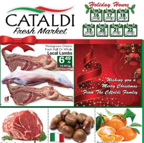 Cataldi Fyer December 16 – 22, 2015. Merry Christmas!
